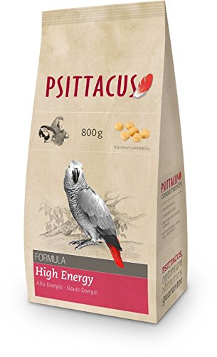 Psittacus Alimento para pájaro Alta energía - 800 gr ✅