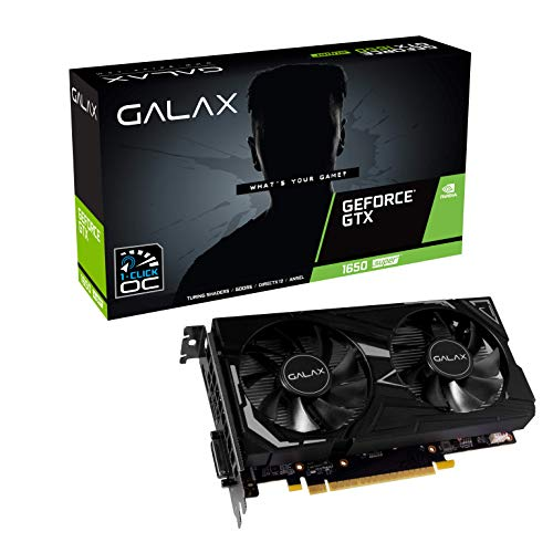 Placa de Vídeo NVIDIA GeForce GTX 1650 Super EX 4GB GDDR6 PCI-E 3 65SQL8DS61EX Galax