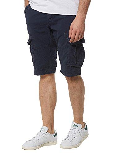 Superdry Hombre Core Cargo Lite Shorts, Azul, 30W