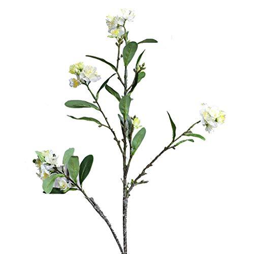 GCX Natural Sala de Flor Flor de la simulación Falsa Falsa Flor de Ciruelo de Estar Decoración decoración del hogar Decoración Grande Grande Piso de la Flor Calentar (Color : A)