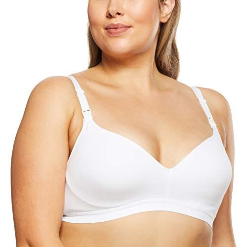 Bonds Women's Underwear Maternity Wirefree Contour Bra, White, 16E