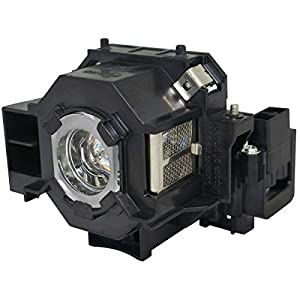 DrBulb Compatible with Epson ELPLP41 V13H010L41 Projector Lamp EB-S62 EB-S62C EMP-S62C EMP-S63 EMP-76C EB-W6 EB-X6 EB-X62 EB-S6 EB-S6+ EB-S6LU EB-X6LU EMP-S5 EMP-S5+ EMP-S52 EMP-T5 EMP-X5 EMP-X5E