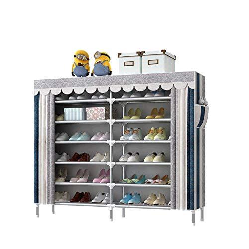 HLL Simple zapato economía espacio económico hogar zapatero dormitorio mujer asamblea polvo almacenamiento pequeño estante multicapa