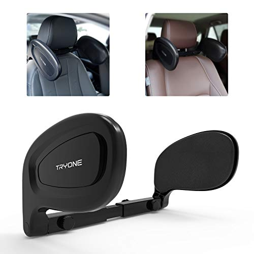 Tryone Auto Kopfstütze Kinder, Nackenkissen Auto – Klappbare Nackenstütze zum Schlafen im Auto...