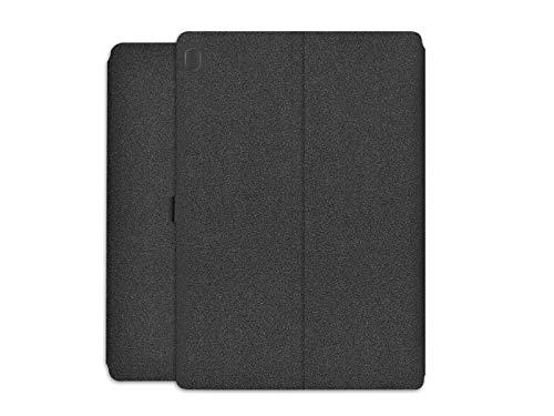 etuo Hülle für Lenovo Tab M10 10.1 - Hülle Wallet Book - Schwarz Handyhülle Schutzhülle Etui Hülle Cover Tasche für Tablet