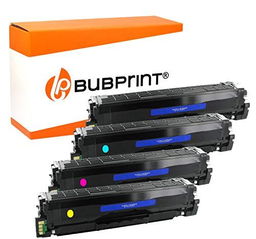 4 Bubprint Toner kompatibel für Samsung CLP-415 CLP 415 CLP415 für CLP-410 CLP-415N CLP-415NW CLX-4195FW CLX-4195FN Xpress C1800 C1810W C1860FW Set