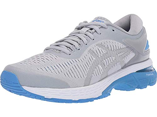 ASICS Women's Gel-Kayano 25 Mid Grey/Blue Coast Running Shoe 6 Women US