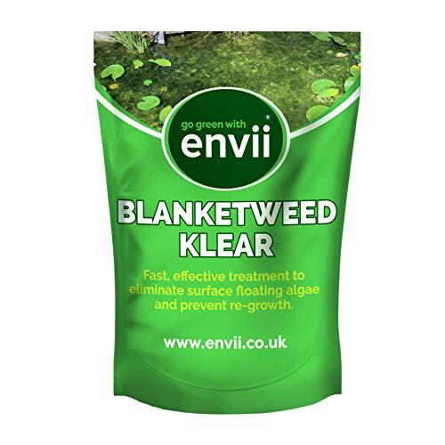 Envii Blanketweed Klear – Tratamiento las algas flotantes - Efectivo en 24 horas - Seguro para la vida silvestre - 1kg - Trata 50,000 litros