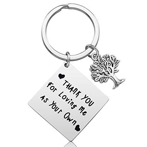 iJuqi Step Mom Gift Keychain - Mother's Day Gift for Stepmom from Step...