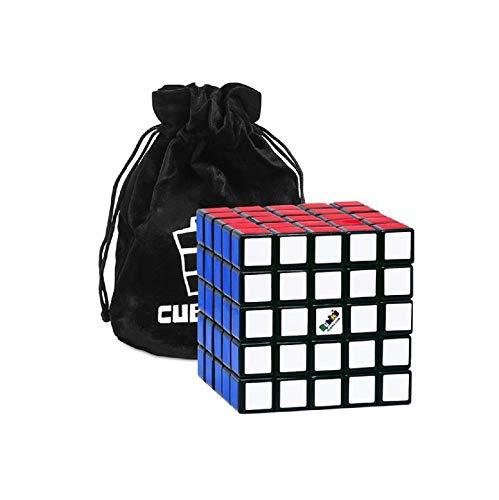 Rubik's Cube 5x5 - Das Klassische und Originale 5x5x5 Farb-Puzzle - Zauberwürfel Rätselspiel mit Tasche