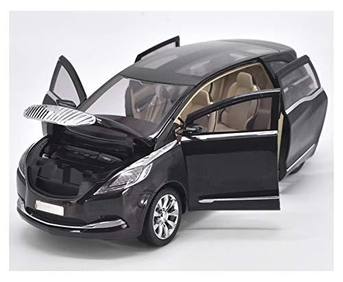 Aleación Niño Coche Deportivo 1:18 para GMC para Buick para GL8 MPV Concepto De Negocio Diecast Black Car Model Toys para Regalos Colección Caja Original para niños pequeños niños niñas Regalo