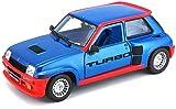 Renault 5 Turbo, azul metálico, 1982, Modellauto, Fertigmodell, Bburago 1:24