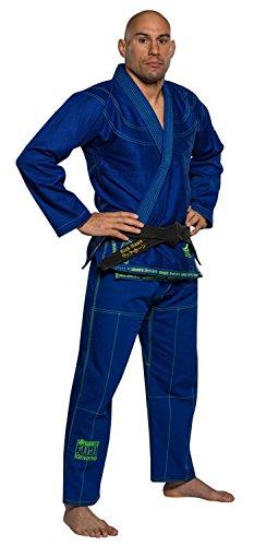Fuji Suparaito BJJ GI Martial Arts Uniform, Blue, A1