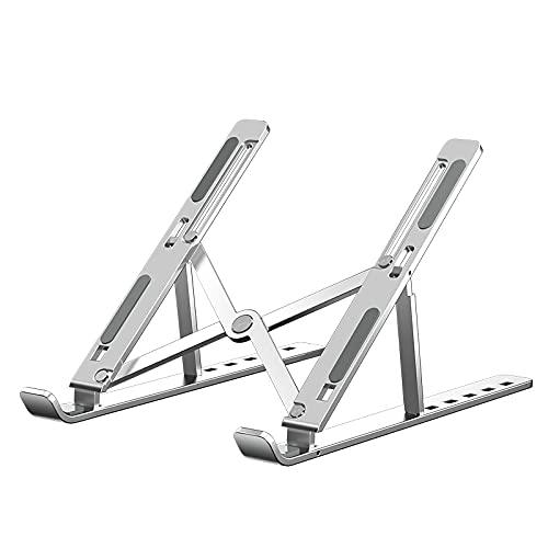 竜泉産業 YXYLQ Soporte para portátil con Aluminio Plegable de Ajuste de Altura de 6 Niveles