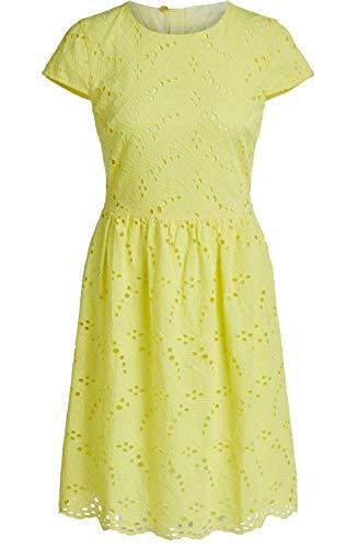 Oui Damen Kleid Gelb gelb Gr. 36, Celandine