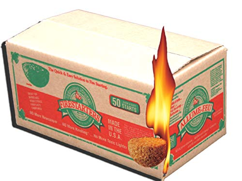 Why Should You Buy Lightning Nuggets N50VBOX Firestarters Box of Fire-Starting Nuggets, 50 Count