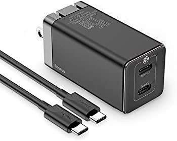 Baseus 45W PD 3.0 Fast Charging Dual USB-C Ports Wall Charger