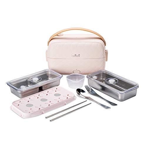 Yum Asia Bonsai Bento Cuociriso elettrico e vaporiera (0,2L,...