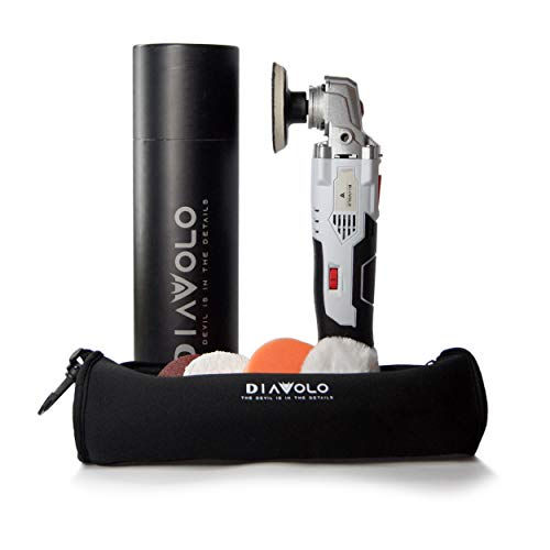 Diavolo 16v Mini Cordless Detail Car Polisher and Buffer Including 16v 1.5 Ah rechargeable...