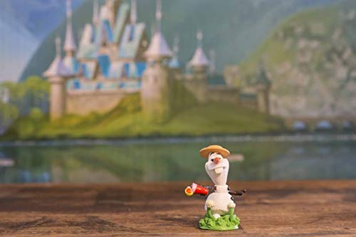 "Disney Chilling Beach Olaf Snowman Custom PVC Christmas Tree Ornament 2.5"" Disneyland Figure"