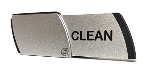 Premium Metal Dishwasher Magnet Clean Dirty Sign | Contemporary Indicator - Kitchen Gadgets for All Dishwashers - for Home or Office Organization Using Padded Magnets or 3M Tabs (Black Lettering)