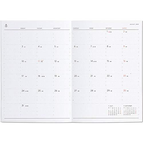 ハイタイド手帳2020年3月始まりB6バーチカルレプレドゥーエベージュ20ST2