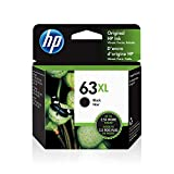 HP 63XL | Ink Cartridge | Works with HP Deskjet 1112, 2100 Series, 3600 Series,...