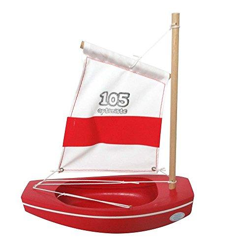 Tirot–Optimist '105–Boot Holzspielzeug
