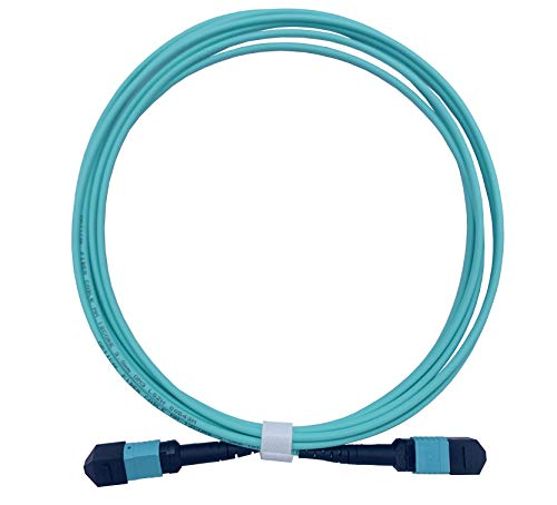 Elfcam® - Cable de fibra óptica hembra a MPO hembra a MPO...