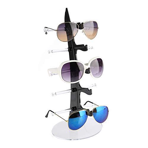 5 Schichten Sonnenbrille Rack Halter, Kunststoff Brillen Regal Sonnenbrille Ständer Rack Lagerung Inhaber(01#)
