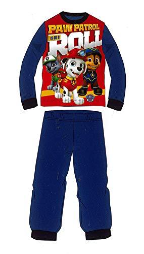 Pijama de Invierno Patrulla Canina Roll Azul Coralina de 5 años
