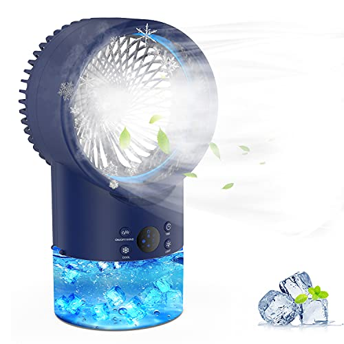 EEIEER Personal Evaporative Air Conditioner Fan Only $16.99 (Retail $45.99)
