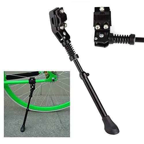 RONGW JKUNYU Accesorios Steadstand de aleación de Aluminio (para Bicicletas de montaña, 700 Bicicletas de Carretera, etc.) - Se Adapta a 20', 24', 26', Ajustable, Negro, 2pcs