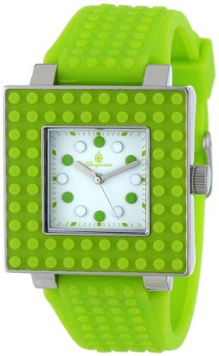 Burgmeister Armbanduhr für Damen mit Analog Anzeige, Quarz-Uhr und Silikonarmband - Wasserdichte Damenuhr mit zeitlosem, schickem Design - klassische, elegante Uhr für Frauen - BM610-180A Color Games