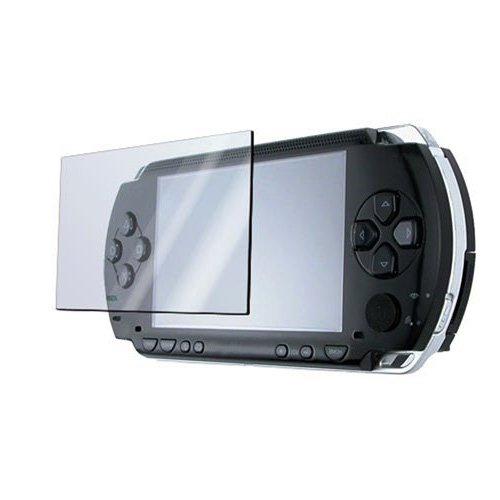 Importer520 3 Screen Protector + Cloth + Compatible with SONY PSP Sony PSP 2000 / PSP 3000 / PSP Slim & Lite