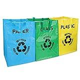 EUBSWA Cubos de Basura de Reciclaje, Bolsas Plástico, Basura...