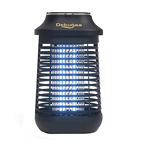 Bug Zapper Waterproof Outdoor/Indoor-Fly Traps Patio Insects Killer-Bug zapper-Mosquito eradicator-electric- 4200V High Powered Electric Mosquito Killer,Mosquito Attractant Trap,Uva Mosquito Lamp Bulb