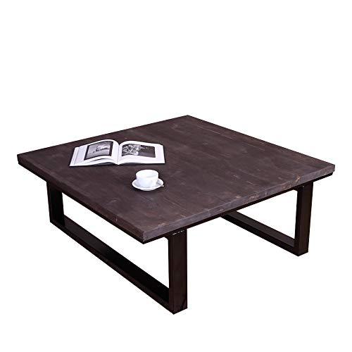 Table basse moderne de style industriel