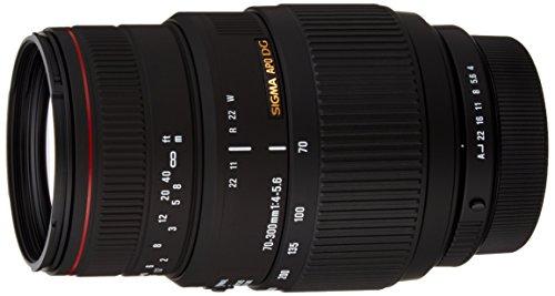 Sigma 70-300 mm F4,0-5,6 DG APO Makro-Objektiv (58 mm Filtergewinde) für Pentax Objektivbajonett