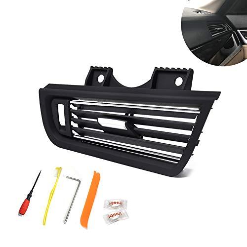 DishyKooker rechter console grill dash AC Air Vent vervanging + inbouwkit voor B-MW 5er 520 523 528 530 OE 64229166884