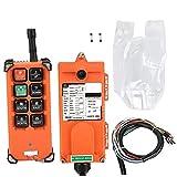 Industrial Wireless control remoto transmisor eléctrico de elevación Receptor remoto controlador cambia 220V VHF 310-331 MHz para la Industria