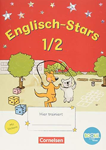Englisch-Stars - BOOKii-Ausgabe - 1./2. Schuljahr: Übungsheft - Mit Lösungen
