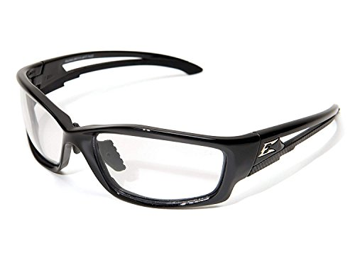 EDGE EYEWEAR SK111VS-AFT Edge Clear Safety Glasses, Anti-Fog, Scratch-Resistant