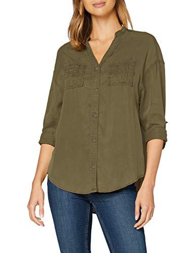 ONLY Damen ONLBERTHA L/S SHIRTWVN Bluse, Kalamata, 40