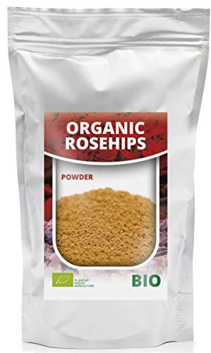 HerbaNordPol Este es un polvo orgánico de rosa silvestre de la más alta calidad Polvo de Escaramujo BIO | Rosa Mosqueta en Polvo