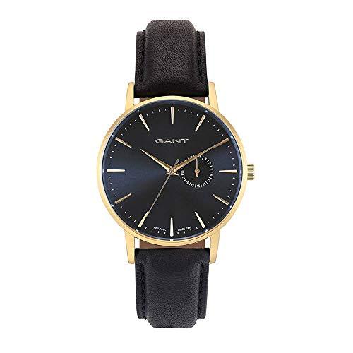 Gant Reloj Analógico para Hombre de Cuarzo con Correa en Cuero 7630043924563
