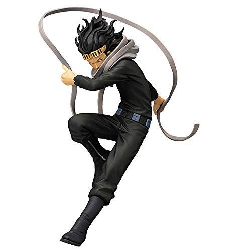 WISHVYQ My Hero Academia Anime Model Class Teacher Eraser Aizawa Shouta Eraser Fighting Versión Escultura Decoración Estatua Muñeca Modelo Juguete Altura 18cm