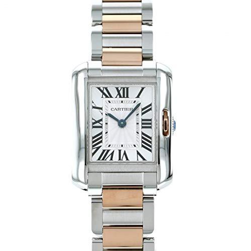 カルティエ Cartier タンク アングレーズ SM W5310036 シルバー文字盤 未使用 腕時計 レディース (W205441) [並行輸入品]