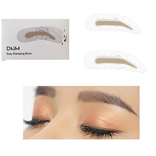 Maquillage à vitesse réglable Sceau à sourcils Paresseux Grive débutante Artefact Outil de maquillage Grive naturelle N'inclut pas la poudre à sourcils (2)