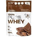 Iron Horse 100% Pure Whey - 1 paquete - Complejo de proteína de suero - WPI, WPC, WPH - Soporte para el desarrollo corporal - Masa muscular - Perfil completo de aminoácidos - BCAA (Chocolate, 2000g)